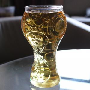 Transparent Beer Glass Cup High Borosilicate 400ML -