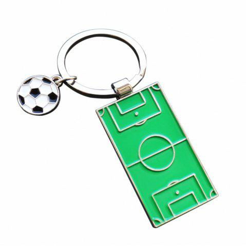 Online Creative Football Model Keychain Souvenir