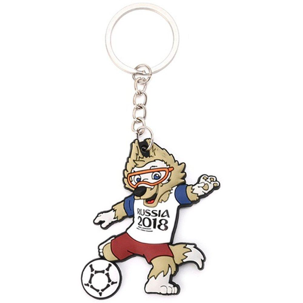 Outfit Creative Football Wolf Model Key Chain