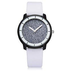 XR2440 Women Simple Analog Quartz PU Leather Wrist Watch -