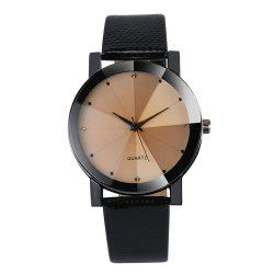 Luxury Simulated Diamond Quartz Sport Casual Creative Clock Fashion Watch -