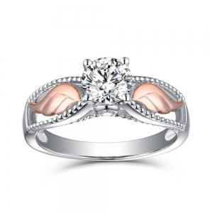 Artificial Diamond Wings Ring -