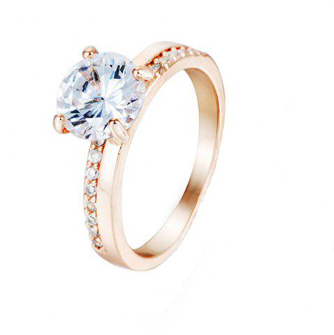 Best Crystal Micro Artificial Diamond Ring