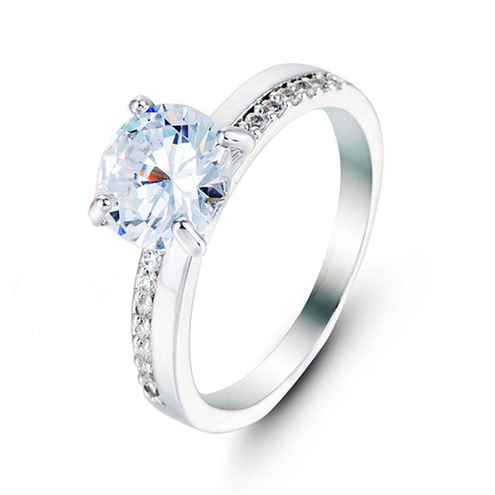 Bague en diamant artificiel Crystal Micro