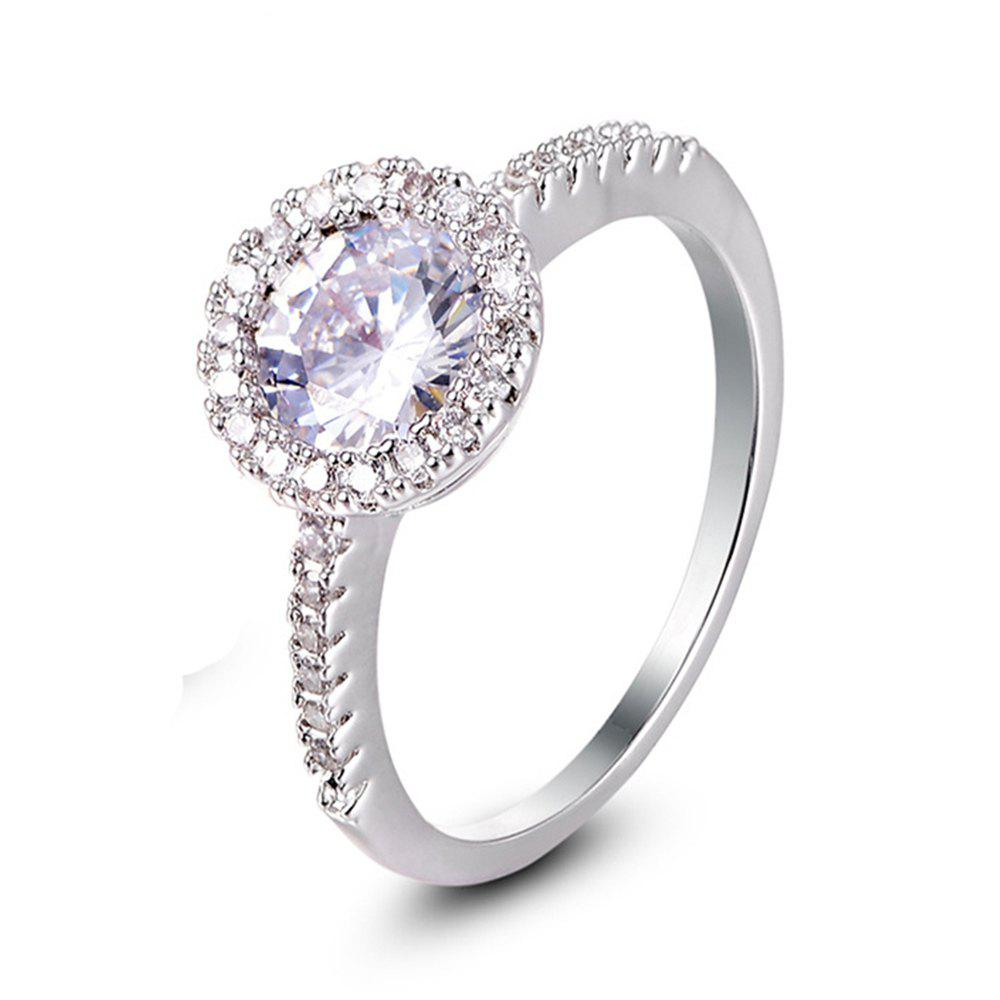 Best Copper Micro Diamond Zircon Ring