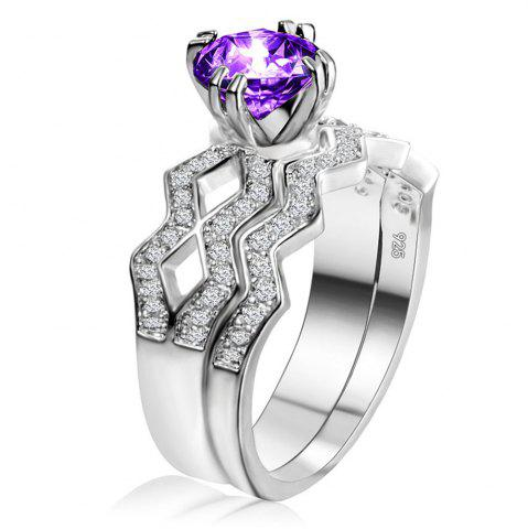 New Artificial Diamond Couple Ring