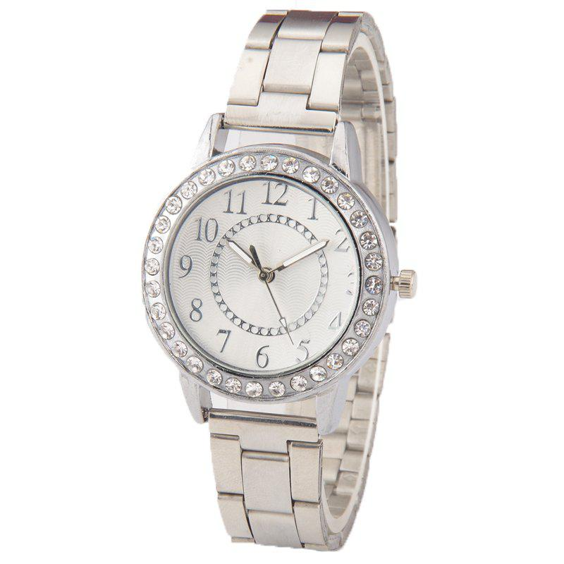 Trendy New Women Steel Band Watch