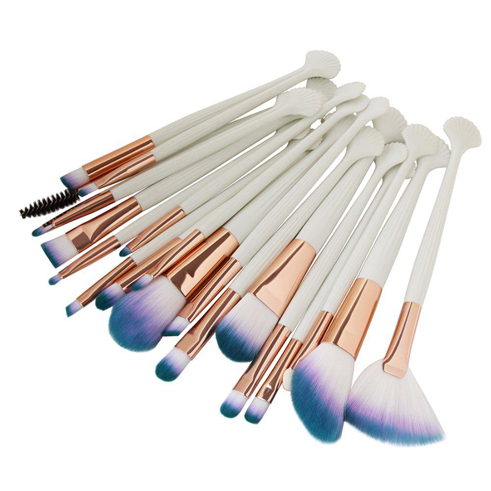 Store 20 Shell Eye Make Up Brushes Beauty Tools