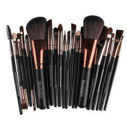 22 Makeup Brushes for Eyes -
