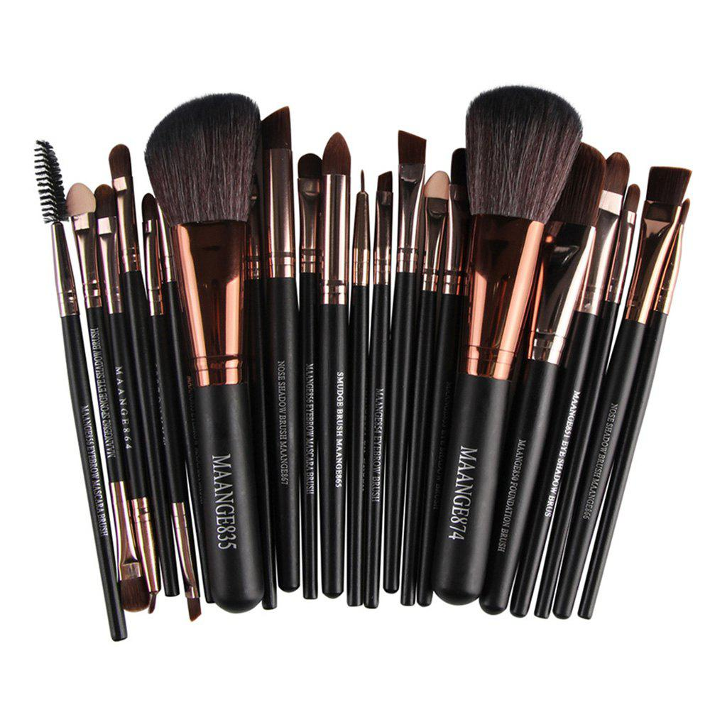 New 22 Makeup Brushes for Eyes