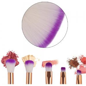 10 Colorful Shell Eye Mermaid Beauty Makeup Brushes -