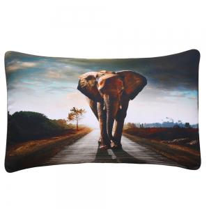 Ensembles de literie Elephant Ensembles de housse de couette Animal Digital Print 3pcs -