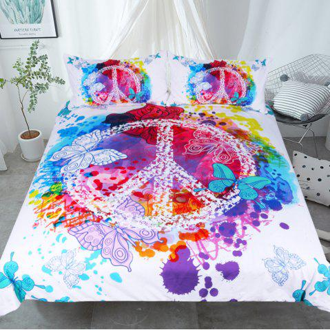 Store Butterfly  Bedding Duvet Cover Set Digital Print 3pcs