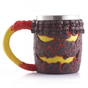 Stainless Steel Halloween Skeleton Cup -