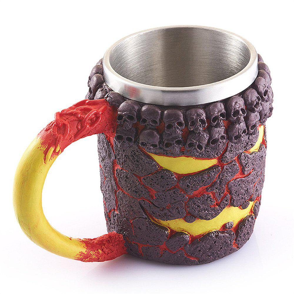 Fashion Stainless Steel Halloween Skeleton Cup