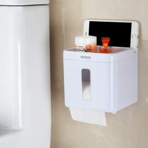 Bathroom Suction-Free Suction Cup Tissue Box -