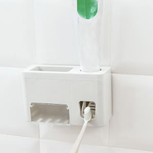 Multifunctional Sucker Automatic Toothpaste Dispenser -