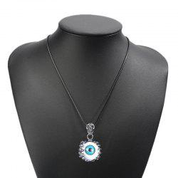 Fashion Personality Devil Eye Necklace Men Simple Titanium Steel Pendant -