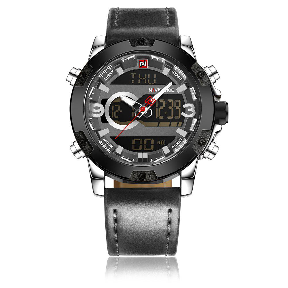 Fancy Naviforce 9097 Men's Dual Display Luminous Multifunctional Waterproof Sports Watch