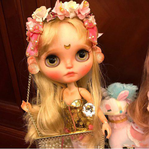 Cheap Blythe Doll 1/6 of Gold and Silver Dresses Cute Girls Boutique Gifts