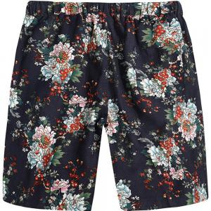 Beach Flower Printed Loose Shorts -