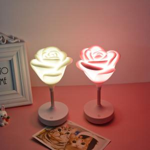 USB Charging Touch Rose Night Light -