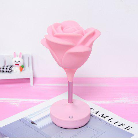 Touche de charge USB Rose Night Light