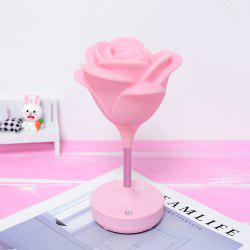 Touche de charge USB Rose Night Light -