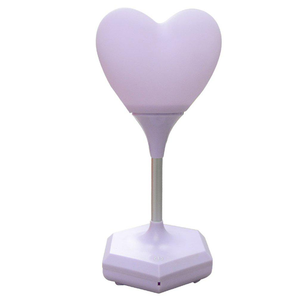 Discount Silicone USB Charging Love Energy-Saving Nightlight