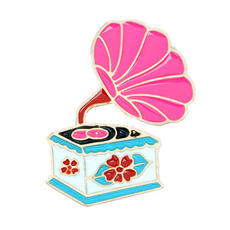 Buy All-Match Creative Fashion Exquisite Cartoon Phonograph Coat Brooch