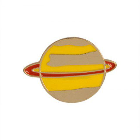 Trendy The New Cute Cartoon Planet Brooch All-Match Fashion Personality