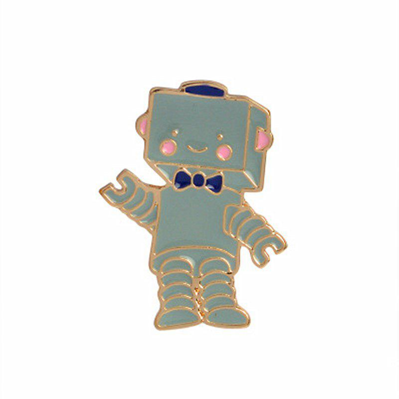 Online The New Cute Cartoon Robot Brooch All-Match Fashion Personality
