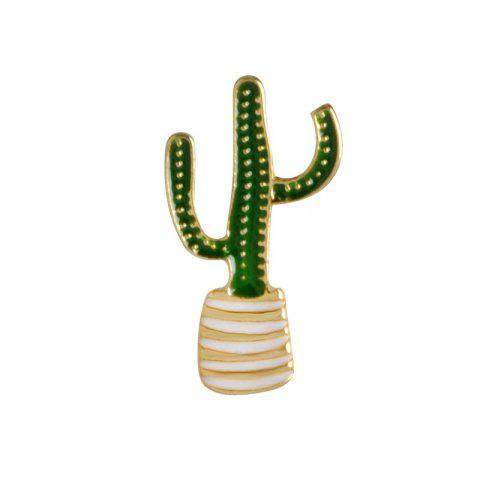 Unique Fashion Personality Plant High-Grade Brooch Costumes Cactus Pin