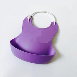 Convenient Baby Eat Disposable Bib Stereo Leakproof Soft Rice Bag -