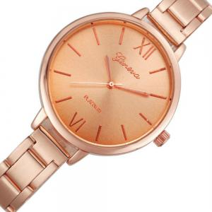 Classic Gold Silver Rose Gold Fashion Women Small Steel Band Thin Band Watch -