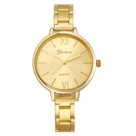 Outfits Classic Gold Silver Rose Gold Fashion Women Small Steel Band Thin Band Watch