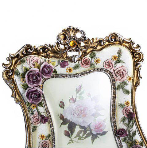 Outfits bz-08 Painted Rose Resin Photo Frame