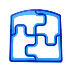 Jigsaw Shaped Kid Lunch Sandwich Toast Cookie Cutter -