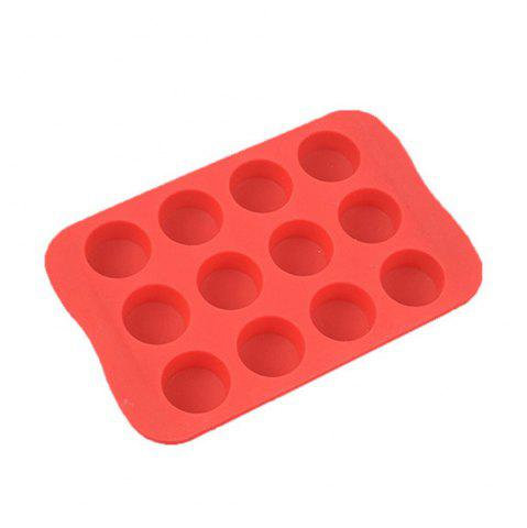 Trendy Round Shape Silicone Ice Cube Mold DIY Cake Jelly Chocolate Whisky Tray