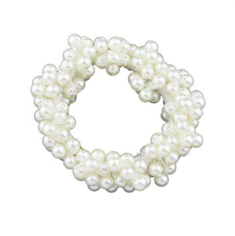 Discount Pink White Black Simulated-pearl Headbands Hairwear