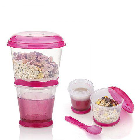 Fancy Breakfast Drink Cups Portable Yogurt and Cereal To-Go Container Cup