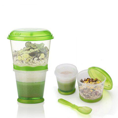 Shop Breakfast Drink Cups Portable Yogurt and Cereal To-Go Container Cup