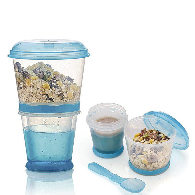 Discount Breakfast Drink Cups Portable Yogurt and Cereal To-Go Container Cup