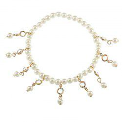 Crystal Tassel Spring Beach Female Ankelt Chain -