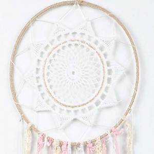 Multi - Color Bohemian Dreamcatcher Flower Tassel Home Decoration -
