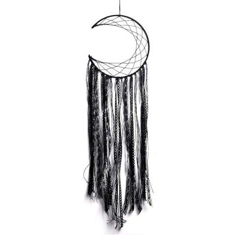 Fashion New Style Black Tassel Moon Dreamcatcher in The Home Decoration