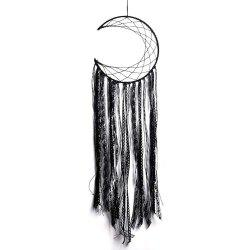 New Style Black Tassel Moon Dreamcatcher in The Home Decoration -