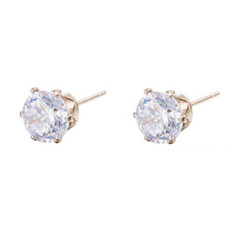 Latest Simple and Exquisite Zircon Earrings ERZ0270