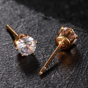 Simple and Exquisite Zircon Earrings ERZ0271 -