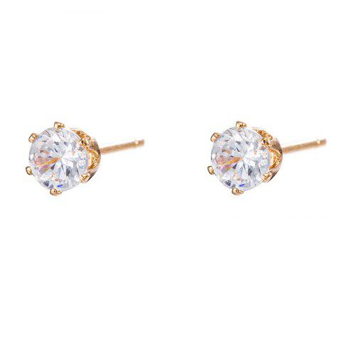 Best Simple and Exquisite Zircon Earrings ERZ0271